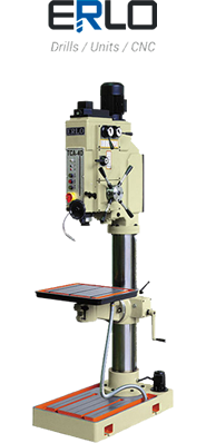 Select this option to access our ERLO-brand industrial drilling machine recommender