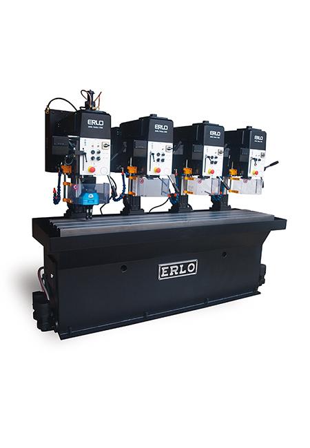 Baterías lineales de taladros y roscadoras a medida de alto rendimiento fabricados por ERLO