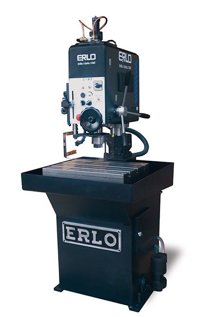 Taladros y roscadoras de bancada fija de alto rendimiento fabricados por ERLO