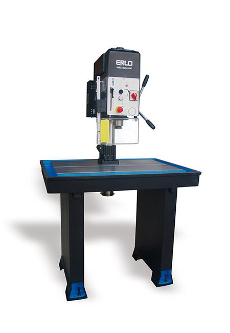 Taladros y roscadoras de mesa fija de alto rendimiento fabricados por ERLO