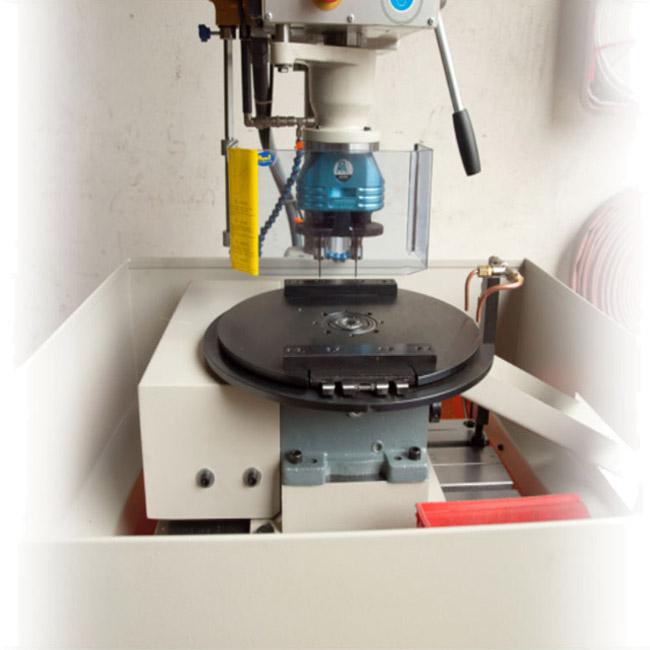Taladros con divisor automático fabricados por ERLO