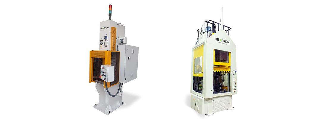 Ibermach entwirft und fertigt hydraulische Pressen und Räummaschinen, die vollkommen auf die Anforderungen Ihres industriellen Projektes zugeschnitten sind