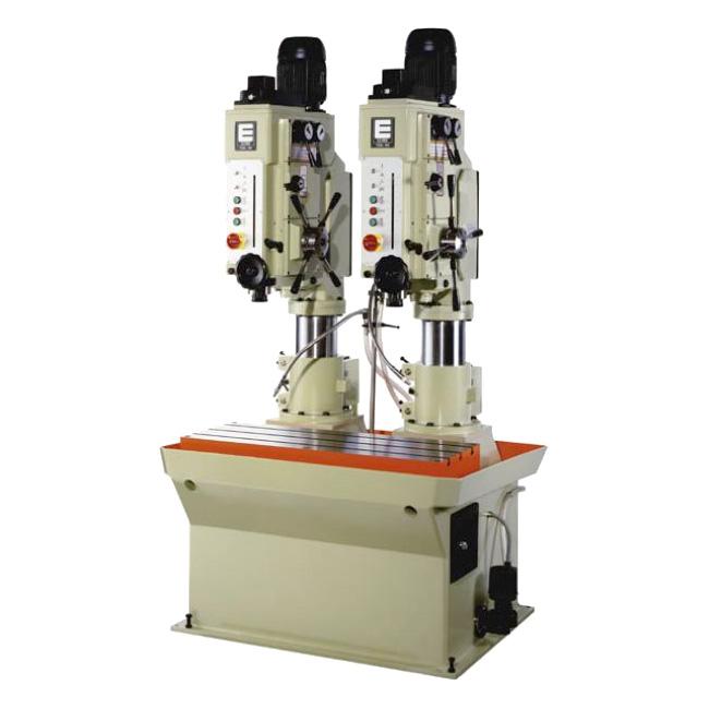 Baterías lineales de taladros y roscadoras con avance automático, embrague mecánico y transmisión por engranes, Serie BTCA/L fabricado por ERLO