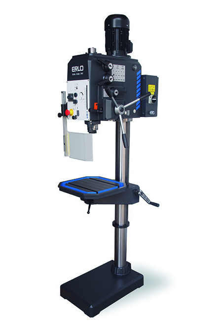 Round column drill with automatic feed and belt transmission Series GP-32 manufactured by ERLO