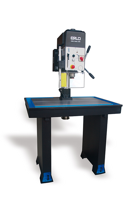 Fixed table drilling and tapping machine with manual feed and belt transmission Series MS manufactured by ERLO