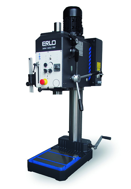 Drilling and tapping machine with manual feed and belt transmission Series S manufactured by ERLO