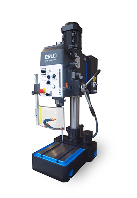 Drilling and tapping machine with manual feed and cog transmission Series SEA manufactured by ERLO