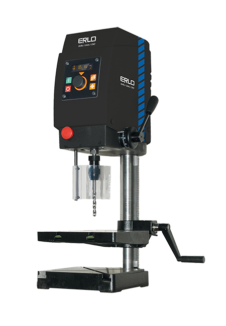 Tapping and drilling machine with automatic drilling feed, automatic tapping feed and cog transmission Series SHEA manufactured by ERLO
