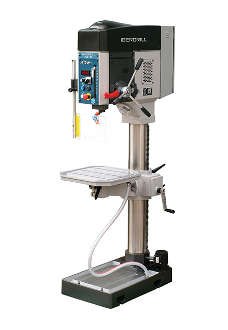 Drilling and tapping machine with automatic feed and transmission Series AZ 40 manufactured by Iberdrill, drilling capacity 40 mm