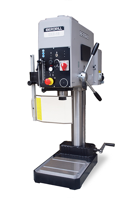 Drilling and tapping machine with manual feed and belt transmission Series EK manufactured by Iberdrill