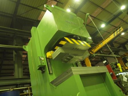 Ibermach sends 2 1000-tonne presses to Brazil